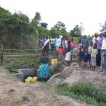 The Water Project: Chegulo Community, Sembeya Spring -  Site Management Training At The Spring