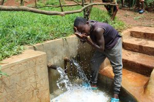 The Water Project:  Cooling Off At The Spring