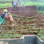 The Water Project: Shamakhokho Community, Imbai Spring -  Grass Planting