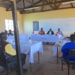 The Water Project: St. Teresa's Isanjiro Girls Secondary School -  Teachers And Board Of Management Meeting