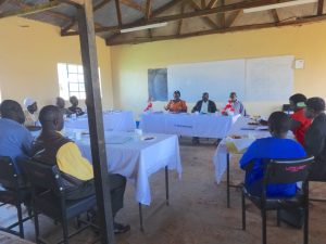 The Water Project:  Teachers And Board Of Management Meeting