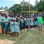 The Water Project: Mukangu Primary School -  Handwashing Demonstration