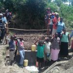 The Water Project: Chegulo Community, Sembeya Spring -  Wrapping Up Training At The Spring