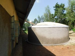 The Water Project:  View Of The Gutter System