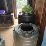 The Water Project: Malinda Secondary School -  Water Storage Drums In The Kitchen