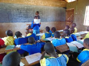 The Water Project:  Student Leads An Activity