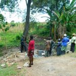 The Water Project: Bung'onye Community, Shilangu Spring -  Site Management Training