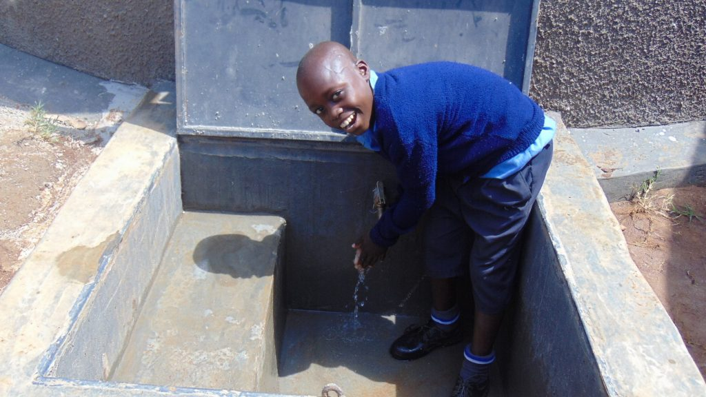 The Water Project : 29-kenya19047-smiles-for-clean-water