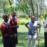 The Water Project: Ematiha Secondary School -  Facilitator Christine Masinde Leads Dental Hygiene Training