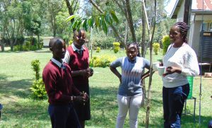 The Water Project:  Facilitator Christine Masinde Leads Dental Hygiene Training