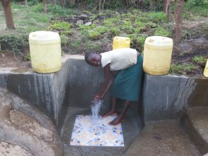 The Water Project:  Enjoying The Spring Water