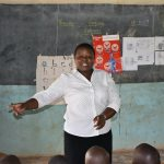The Water Project: Elufafwa Community School -  Student Health Club Faculty Liaison Saying Thanks