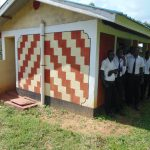 The Water Project: Friends Mixed Secondary School Lwombei -  Boys At The Shared Latrine Block
