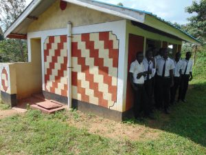 The Water Project:  Boys At The Shared Latrine Block