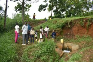 The Water Project:  Busy Nyanje Spring