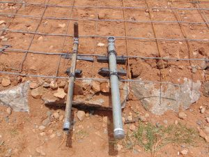 The Water Project:  Tap Pipe For Access And Score System For Draining The Tank