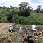 The Water Project: Bungaya Community, Charles Khainga Spring -  Communiy Members At The Spring