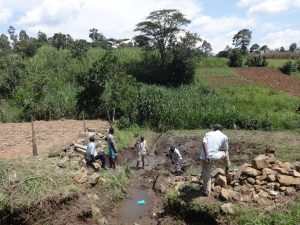 The Water Project:  Communiy Members At The Spring