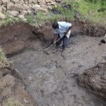 The Water Project: Bungaya Community, Charles Khainga Spring -  Excavation