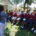 The Water Project: Ematiha Secondary School -  Toothbrushing Practice
