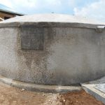 The Water Project: Mukangu Primary School -  Completed Rain Tank