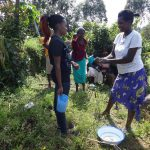 The Water Project: Bungaya Community, Charles Khainga Spring -  Handwashing Training