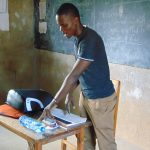 The Water Project: Musasa Primary School -  Solar Disinfection Session
