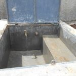 The Water Project: Mukangu Primary School -  Clean Rainwater Flows