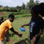 The Water Project: Bungaya Community, Charles Khainga Spring -  Handwashing Practice
