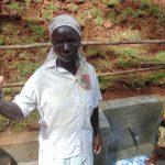 The Water Project: Shamakhokho Community, Imbai Spring -  Village Elder Damaris Khalechi