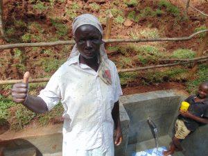 The Water Project:  Village Elder Damaris Khalechi