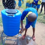 The Water Project: Musasa Primary School -  Handwashing Practice