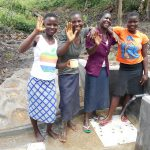 The Water Project: Bung'onye Community, Shilangu Spring -  Happy Day