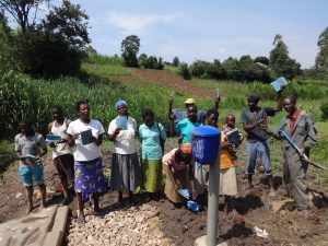 The Water Project:  Showing Off Training Materials
