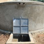 The Water Project: Musasa Primary School -  Completed Rain Tank