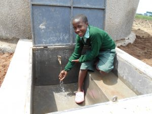 The Water Project:  Enjoying The Rainwater