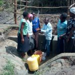 The Water Project: Chegulo Community, Sembeya Spring -  Celebrating Water