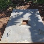 The Water Project: Bungaya Community, Charles Khainga Spring -  Completed Sanitation Platform