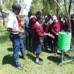 The Water Project: Ematiha Secondary School -  Handwashing Practice