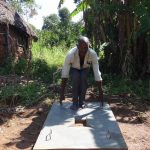 The Water Project: Bungaya Community, Charles Khainga Spring -  New Sanitation Platform Owner