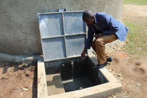 The Water Project:  Staff Checks Out The Tap