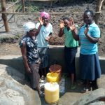 The Water Project: Chegulo Community, Sembeya Spring -  Happy Faces At The Spring