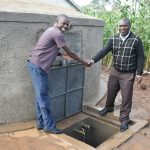 The Water Project: Elufafwa Community School -  Handing Over The Rain Tank