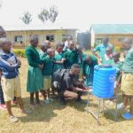The Water Project: Shinyikha Primary School -  Handwashing Practical Session