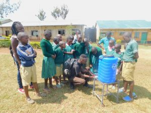 The Water Project:  Handwashing Practical Session