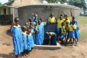 The Water Project:  Students Celebrate The Tank