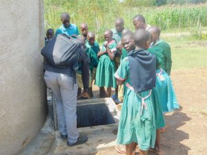 The Water Project:  Training On Rain Tank Management