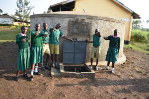 The Water Project:  Thumbs Up For The New Rain Tank