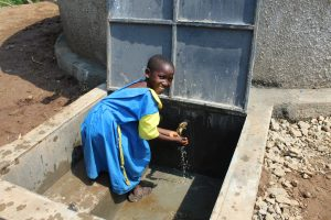 The Water Project:  Smiles At The Tank