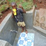 The Water Project: Shamakhokho Community, Imbai Spring -  Thumbs Up Fro A Clean Drink